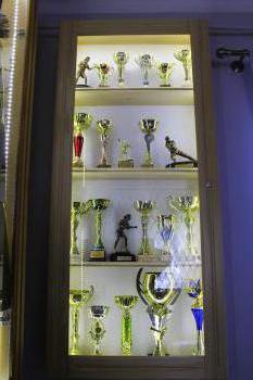 Szkoła w Gródku - Gablota sportowa