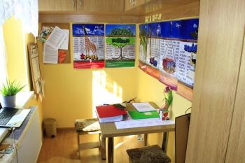 Szkoła w Gródku - Gabinet pedagoga