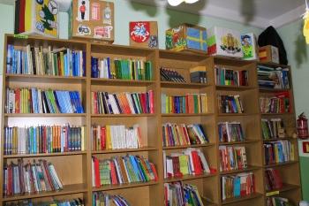 Szkoła w Gródku - Biblioteka szkolna