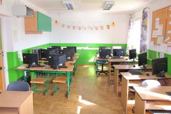 Szkoła w Gródku - Sala lekcyjna