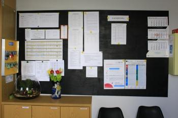 Szkoła w Gródku - Pokój nauczycielski