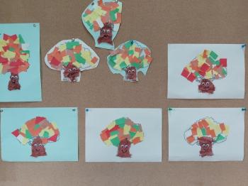 Dzień Drzewa - Świetlica szkolna