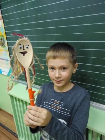 Drewniane kukiełki - klasa II