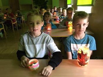 Jesienny lampion - klasa III