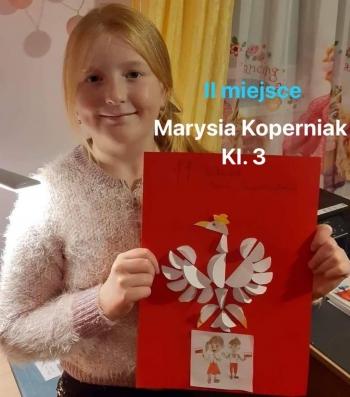 II miejsce - Marysia Koperniak, kl. 3