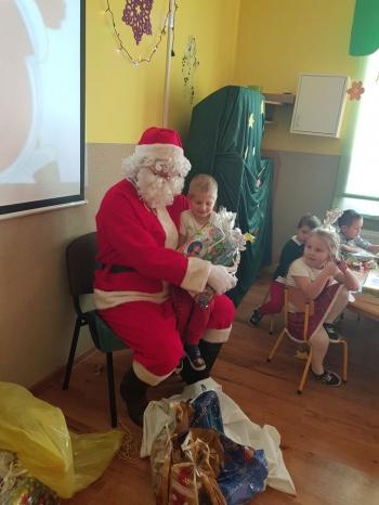 Wizyta Mikołaja w Przedszkolu