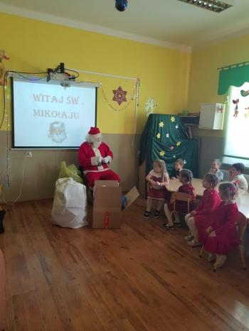 Wizyta Mikołaja w Przedszkolu (7)