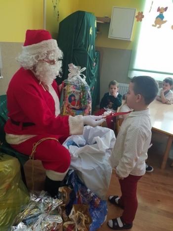 Wizyta Mikołaja w Przedszkolu (10)