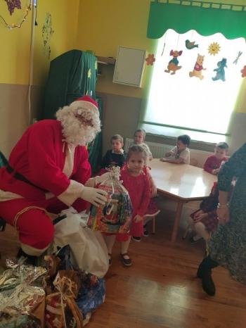 Wizyta Mikołaja w Przedszkolu (14)