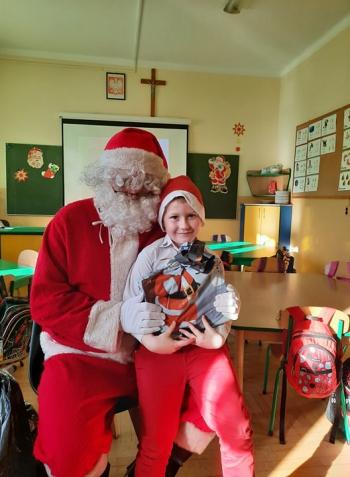 Wizyta Mikołaja w Przedszkolu (47)