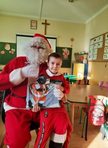 Wizyta Mikołaja w Przedszkolu (49)