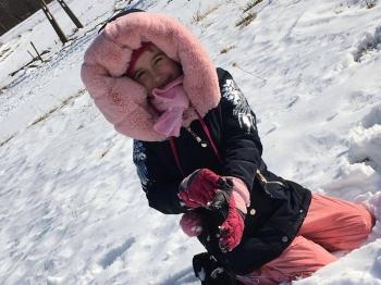 Zimowe zabawy na śniegu (9)