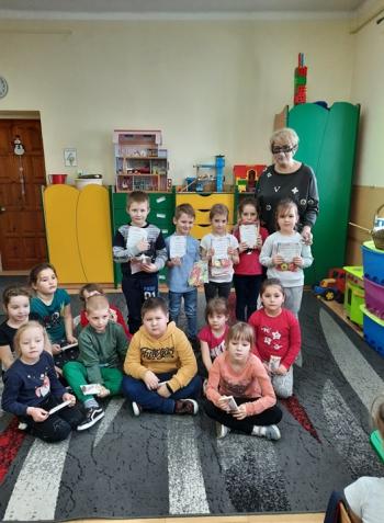 Kartka Bożonarodzeniowa - Oddział przedszkolny