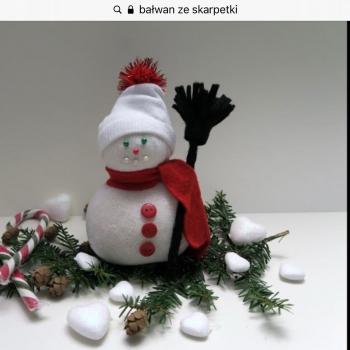 Zimowe inspiracje plastyczne - kl. III (23)