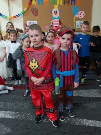 Zabawa karnawałowa - Oddział Przedszkolny (2)