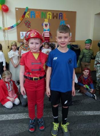 Zabawa karnawałowa - Oddział Przedszkolny (11)