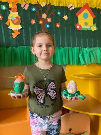 Wielkanocna pisanka - oddział przedszkolny (1)