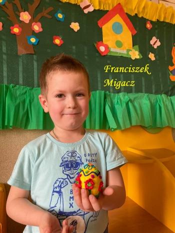 Wielkanocna pisanka - oddział przedszkolny (2)