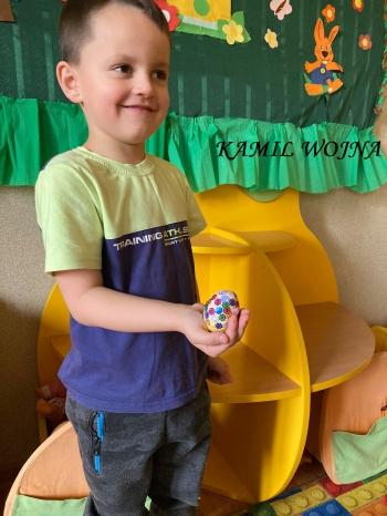 Wielkanocna pisanka - oddział przedszkolny (10)