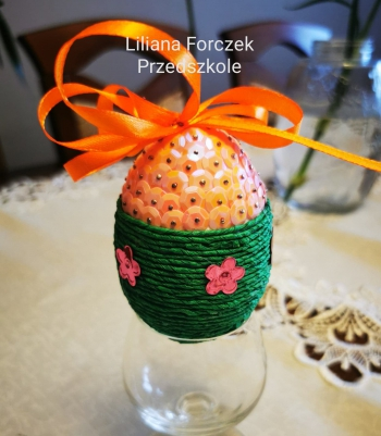 Wielkanocna pisanka - oddział przedszkolny (11)