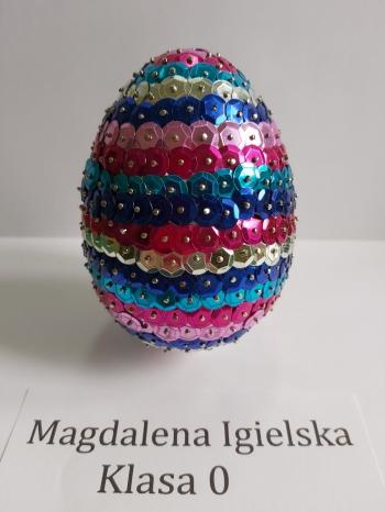 Wielkanocna pisanka - zerówka (1)
