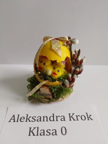 Wielkanocna pisanka - zerówka (3)
