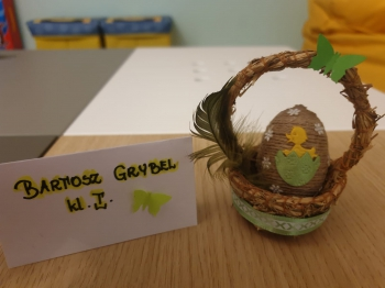 Wielkanocna pisanka - kl. I (8)