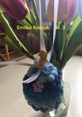 Wielkanocna pisanka - kl. III (2)