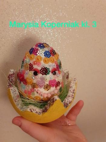 Wielkanocna pisanka - kl. III (4)