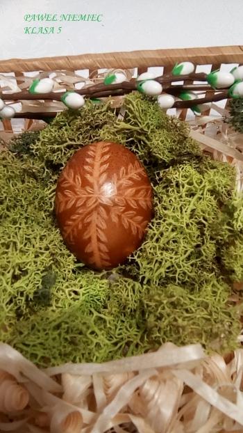 Wielkanocna pisanka - kl. V