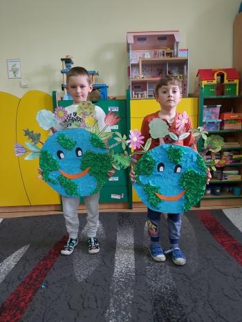 Dzień Ziemi w oddziale przedszkolnym (2)