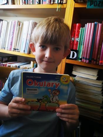 Wizyta klasy I w Bibliotece Wiejskiej (4)