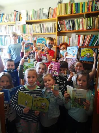 Wizyta klasy I w Bibliotece Wiejskiej (5)