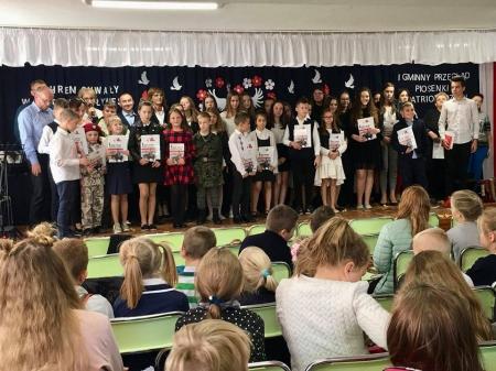 Dzień Patrona Szkoły i I Gminny Przegląd Pieśni Patriotycznej