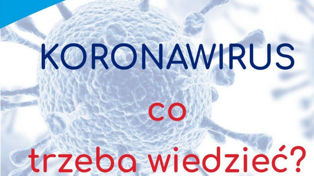 Uwaga!  Ważne informacje na temat postępowania w przypadku podejrzenia zakażenia koronawirusem!