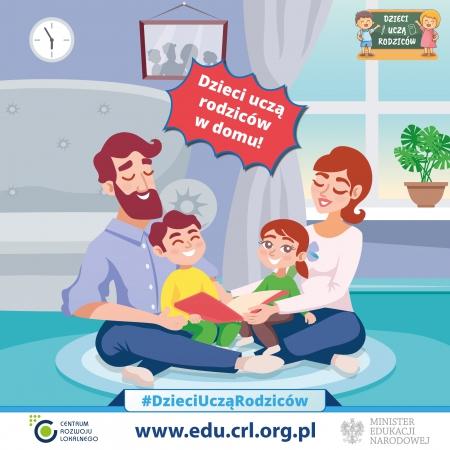 Dzieci uczą rodziców w domu!