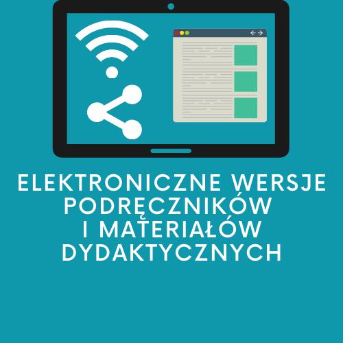 Elektroniczne wersje podręczników
