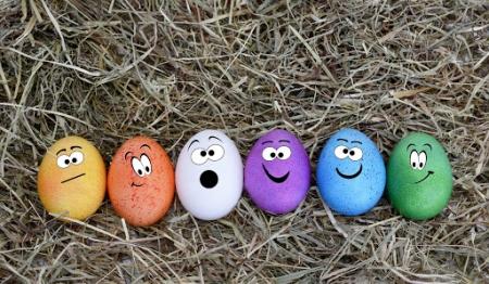 Wielkanocne pisanki w wykonaniu uczniów klasy 2 i ich Rodziców!