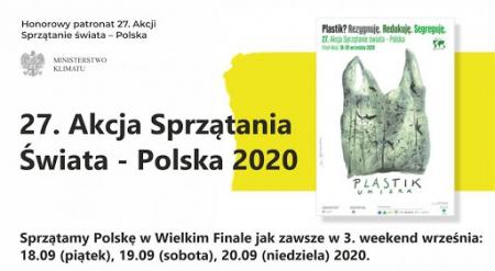 27. Akcja Sprzątania Świata- Polska!