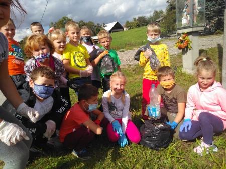 Akcja Sprzątanie Świata w naszej Szkole