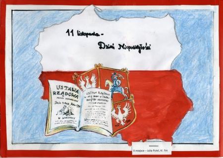 Konkurs plastyczny : Moje Święto Niepodległości