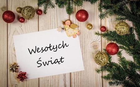 Życzenia Bożonarodzeniowe 2020...