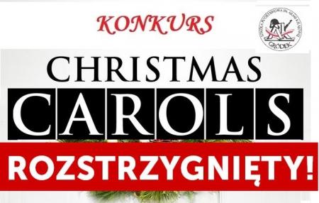 Szkolny Konkurs Kolęd i Piosenek Świątecznych w języku angielskim ROZSTRZYGN
