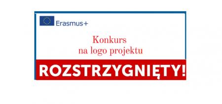 Konkurs na Logo Projektu Erasmus +  rozstrzygnięty!!!
