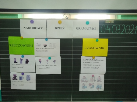 Narodowy Dzień Gramatyki w klasach I - III