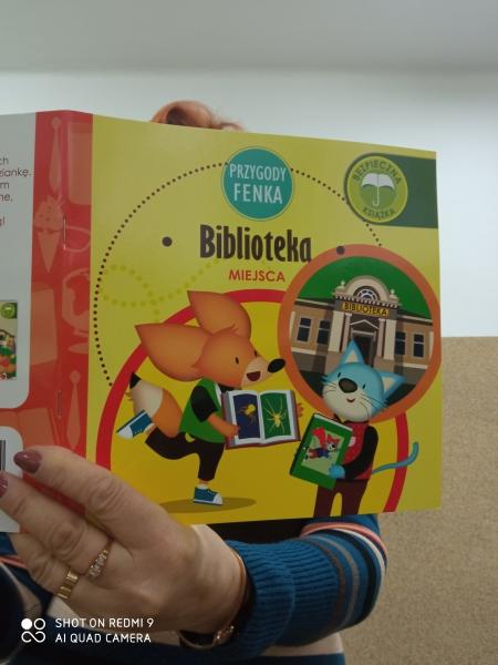 W świecie książek - wyjście do Bibioteki Wiejskiej