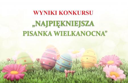 Wyniki Konkursu na Najpiękniejszą Pisankę Wielkanocną...