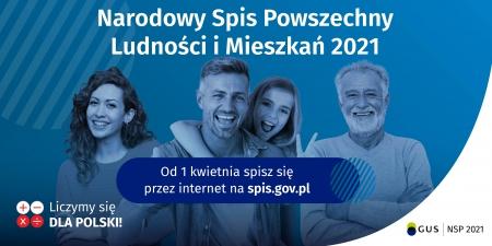 Narodowy Spis Powszechny Ludności i Mieszkań 2021...