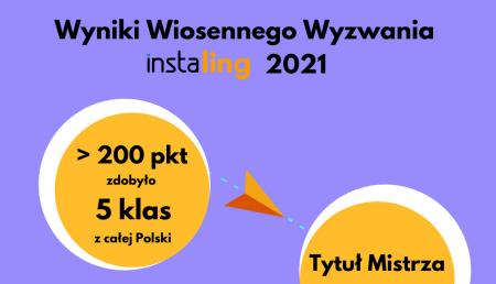 Wiosenne Wyzwanie InstaLing 2021...